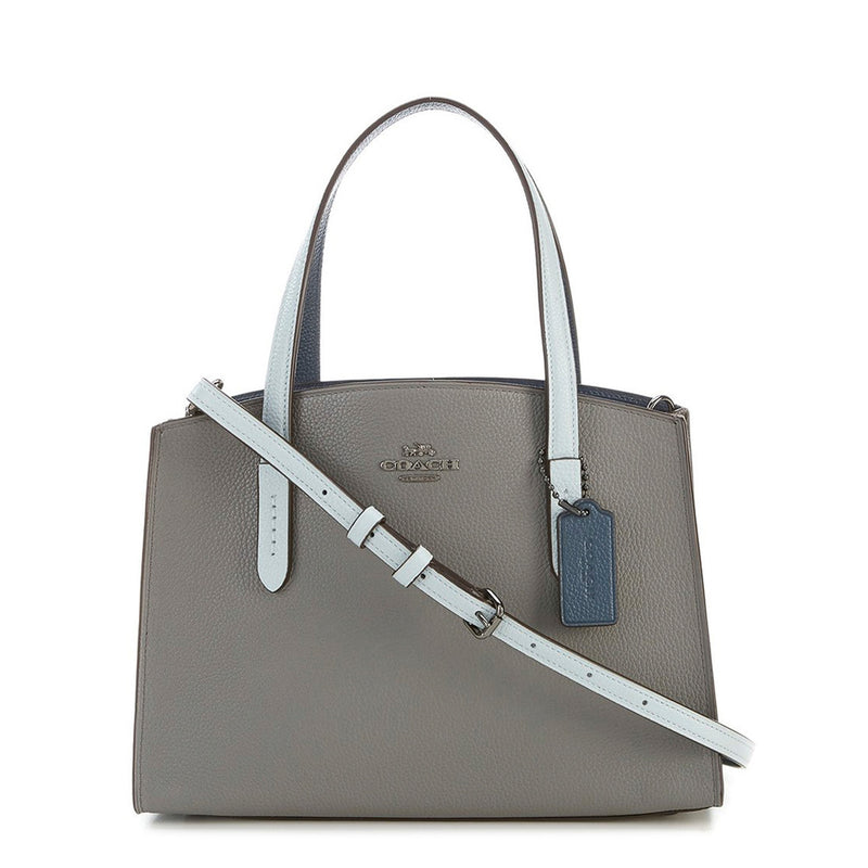 Coach - 31740 - Charlie Carryall 28 with Colorblock Snakeskin Detail