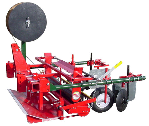 Plastic Mulch Layer And Lifter Mechanical Transplanter