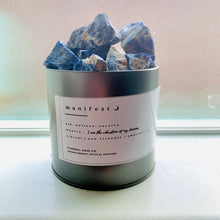 "Load image into Gallery viewer, ""MANIFEST"" Sodalite Aromatherapy Diffuser - Ethereal Haze"