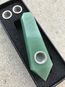 Aventurine Crystal Pipe - EtherealHaze.com