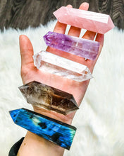 Load image into Gallery viewer, Double Terminated Clear Quartz Crystal Point - EtherealHaze.com