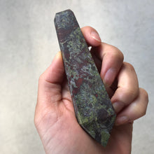 Load image into Gallery viewer, Dragon's Blood Jasper Pipe - EtherealHaze.com