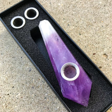 Load image into Gallery viewer, African Amethyst Pipe - EtherealHaze.com