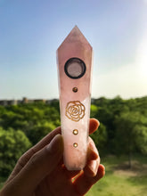 "Load image into Gallery viewer, ""Rosé Quartz"" Pipe