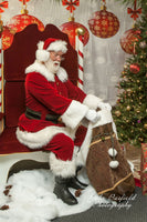 Santa Magic bag with. Chrismas Love.