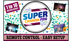 Super Cannon Pro by Aprendemagia (Gimmick and Online Instructions)