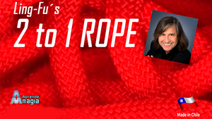 2 TO 1 Rope (Red) by Aprendemagia