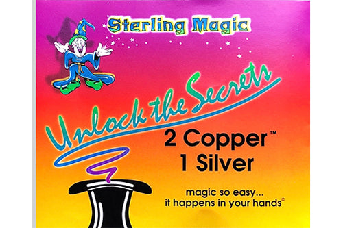 2 Copper 1 Silver w/ Matching Half - Sterling