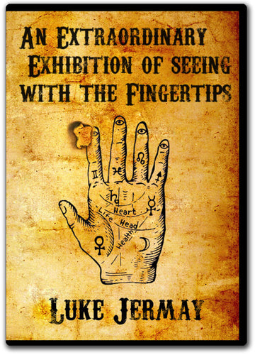 An Extraordinary Exhibition of Seeing with the Fingertips by Luke Jermay RED (DVD + Equipment)