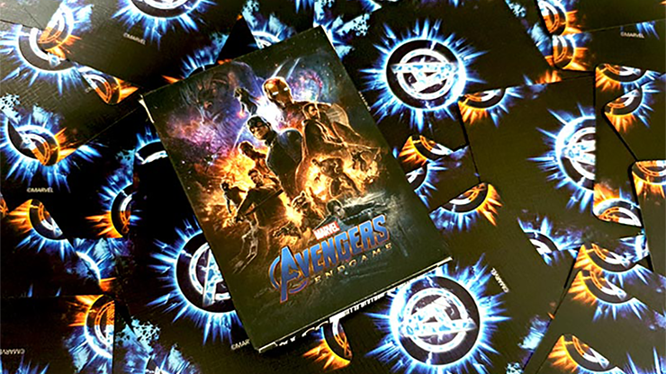 Avengers Endgame Classic Playing Cards- with Magnetic Card option (2 cards)