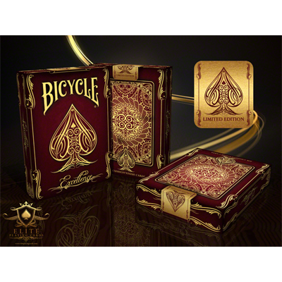 Bicycle Excellence Deck by US Playing Card Co.-with Magnetic Card option (2 cards)