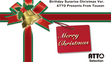 Merry Christmas version of Birthday Surprise  by Masuda Magic