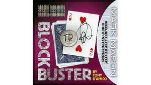 BLOCK BUSTER Red (Gimmick and Online Instructions) by Tony D'Amico and Mark Mason