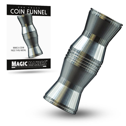 Crazy Coin Funnel Magic Trick