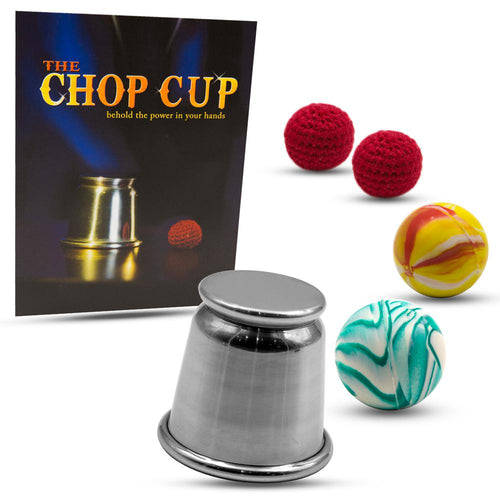 Chop Cup with Props & Training Course by Magic Makers
