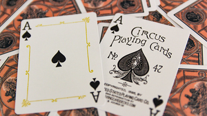 Circus No. 47 (Peach) Playing Cards