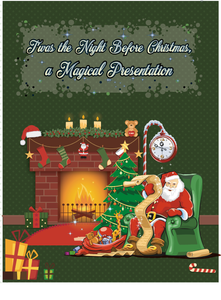 Christmas Book.Twas The Night Before Christmas A Magical Presentation