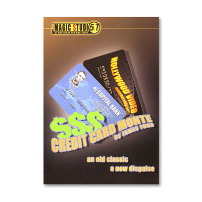 Credit Card Monte by James Ford & Magic Studio 51