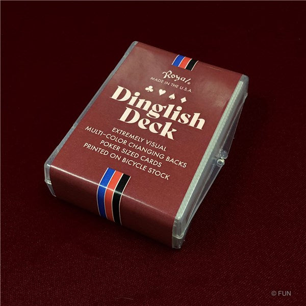 DINGLISH DECK BY ROYAL MAGIC- Red Bicycle