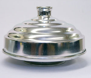Dove Pan w/ Pedestal, Alum - Double
