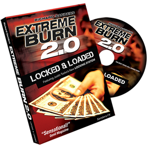 Extreme Burn 2.0: Locked & Loaded (Gimmicks and Online Instructions) by Richard Sanders