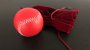 Final Load Ball Leather Red (5.7 cm Red) by Leo Smetsers