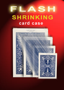 Flash Shrinking Card Case - Blue