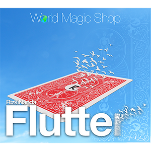 Flutter (DVD and Gimmick) by Rizki Nanda and World Magic Shop