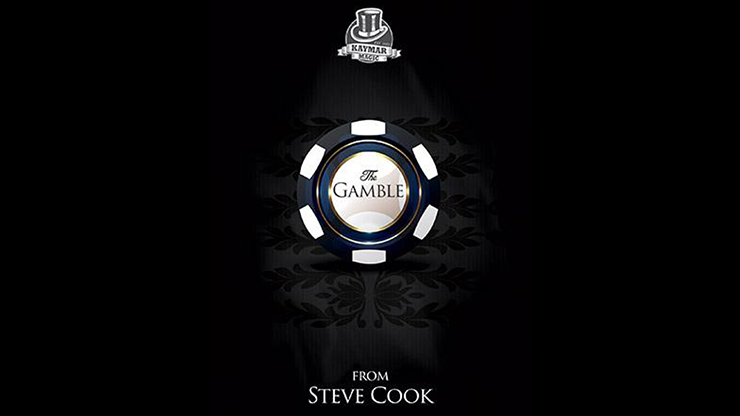 Gamble (Gimmick and Online Instructions) by Steve Cook & Kaymar Magic