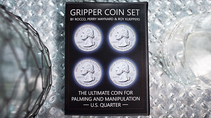 Gripper Coin (Set/U.S. 25) by Rocco Silano