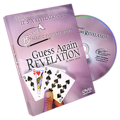 Guess Again Revelations (w/ DVD and Cards) by Barry Taylor
