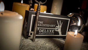 Haunted Key Deluxe (Gimmicks and Online Instruction) by Murphy's Magic- with  Invisible thread and wax included!
