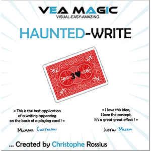 Haunted Write (English / French) by Christophe Rossius