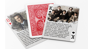 History Of American Crime Playing Cards