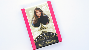 History Of American First Ladies Playing Cards