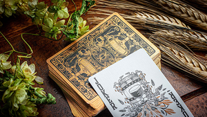 Hops & Barley (Copper) Playing Cards by JOCU Playing Cards