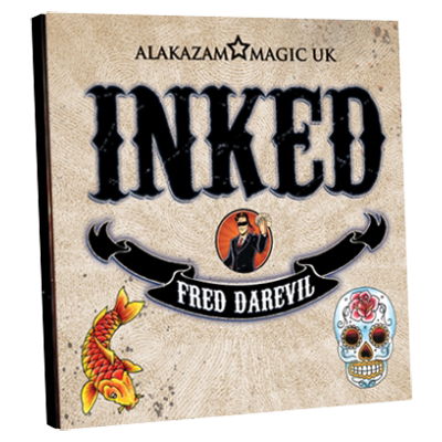 Inked (DVD and Gimmicks) by Fred Darevil and Alakazam Magic