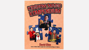 KIDSHOW MAGIC KOMPENDIUM by David Ginn-Autographed and Numbered!