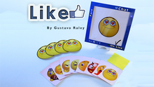 LIKE (Gimmicks and Online Instructions) by Gustavo Raley