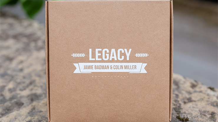Legacy V2 (Gimmicks, Book and Online Instructions) by Jamie Badman and Colin Mille