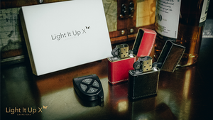 Limited Edition Light It Up Scarlet Shine Edition (Gimmicks, Remote and Online Instructions) by SansMinds