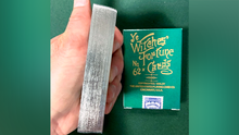 Limited Edition Ye Witches' Silver Gilded Fortune Cards (2 Way Back)(TEAL BOX)