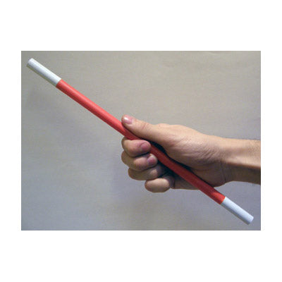 Magic Wand Red Body (White Tips) by Bazar De Magia