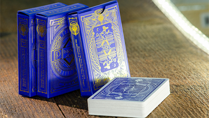 Pinocchio Sapphire Playing Cards (Blue) by Elettra Deganello