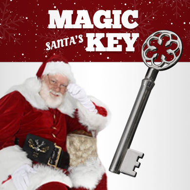Santa's Magic Key.  Changes to fit any lock!