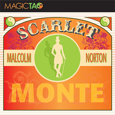 Scarlet Monte Blue(Gimmick and Online Instructions) by Malcolm Norton
