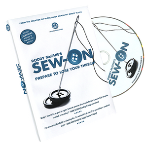 Sew-On (DVD and Gimmick) by Roddy McGhie