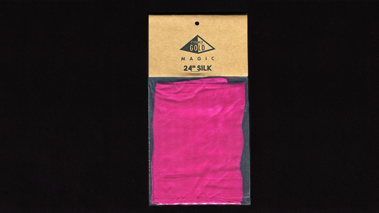 Silk 24 inch (Pink) by Pyramid Gold Magic