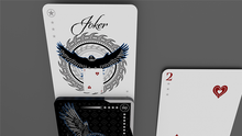Silver Falcon Throwing Cards (Foil) by Rick Smith Jr. and De'vo
