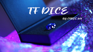 TF DICE (Transparent Forcing Dice) Blue by Chris Wu
